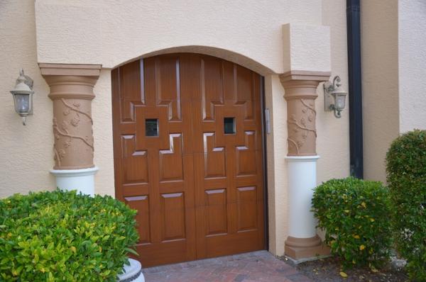 050 Eden Coast Custom Front Door Design Match, S4
