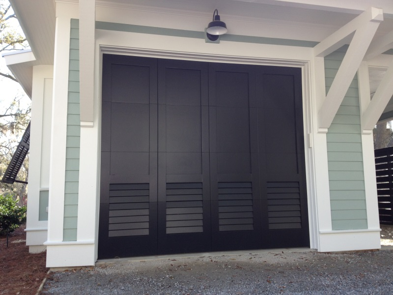 013 Eden Coast Custom Louver Design, Customer Painted in Field to match