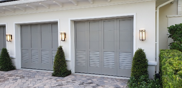 Recessed Panel over Louver Design